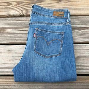 Levis Women Jeans Slight Curve Classic Rise Slim L